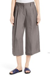 Joseph Women's Tai Wide Leg Linen Crop Pants