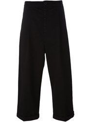 Henrik Vibskov 'Stay' Cropped Trousers Black