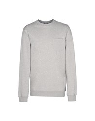 Iuter Topwear Sweatshirts Men Light Grey