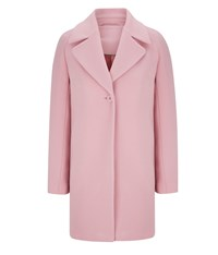 Austin Reed Pink Cocoon Coat