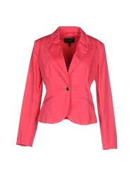 Armani Jeans Suits And Jackets Blazers Women Fuchsia