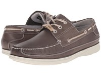 Dockers Midship Charcoal Soft Waxy Tumbled Men's Slip On Shoes Brown