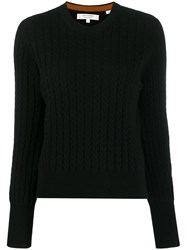 Chinti And Parker Ribbed Knit Jumper Black