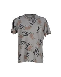 Alpha Studio Topwear T Shirts Men Lead