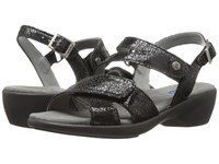 Wolky Fria Black Women's Sandals