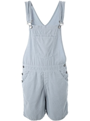 Current Elliott Corduroy Overalls Blue
