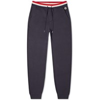 Moncler Tricolour Waistband Sweat Pant Blue