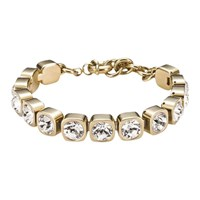 Dyrberg Kern Conian Gold Single Crystal Bracelet