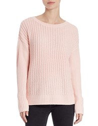 Lord And Taylor Knit Crewneck Sweater Sweetheart