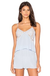 Keepsake Into The Night Silk Cami Blue