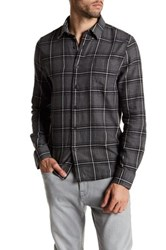 Threads For Thought Justin Plaid Shirt Gray