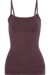 Yummie Tummie By Heather Thomson Woman Convertible Shaping Stretch Camisole Grape