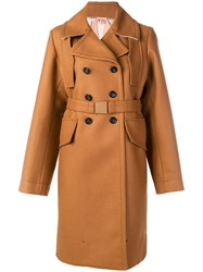 N 21 No21 Belted Trench Coat Brown