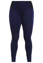 Junarose Jrraz Leggings Black Iris Dark Blue