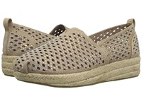 Skechers Highlights Taupe 1 Women's Flat Shoes