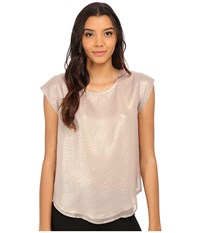 Joie Rancher N A167 23294N Metallic Gold Women's Blouse