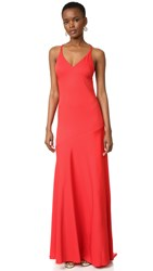 Cedric Charlier Gown Red