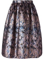 Markus Lupfer A Line Skirt Nude And Neutrals