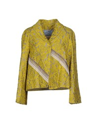 Prada Suits And Jackets Blazers Women Yellow