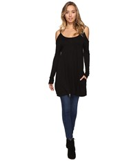 Lamade Unice Tunic Black Women's Long Sleeve Pullover