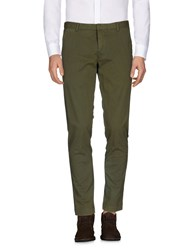 .. Beaucoup Casual Pants Military Green