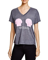 Wildfox Couture Wildfox Venice Shells Tee Dirty Black