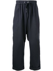 Strateas Carlucci Loose Fit Trousers Black