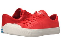 People Footwear Phillips 3D Mesh W Eva Supreme Red Picket White Men's Lace Up Casual Shoes Pink