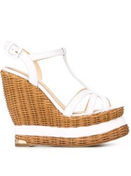 Paloma Barcelo 'Valerie' Sandals White