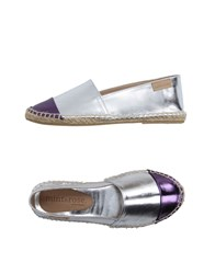 Mint And Rose Footwear Espadrilles Women Silver