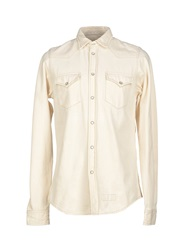 Roy Rogers Roy Roger's Denim Shirts Ivory