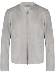 Drome Fitted Lightweight Jacket Grey