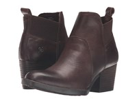 Born Garcia Chocolate Full Grain Leather Women's Boots Brown