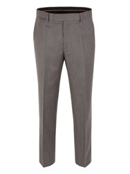 Pierre Cardin Striped Classic Fit Suit Trousers Grey