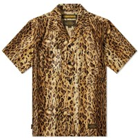 Neighborhood Short Sleeve Fur Shirt Yellow