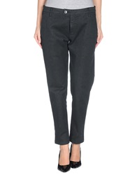 Department 5 Casual Pants Black