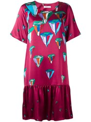 Tsumori Chisato Printed Flared Dress