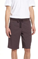 James Perse Surplus Relaxed Fit Shorts Brown