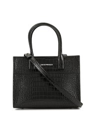 Emporio Armani Crocodile Embossed Shoulder Bag 60
