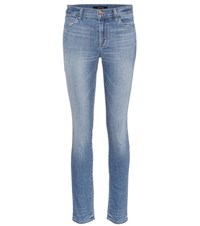 J Brand 811 Mid Rise Skinny Jeans Blue