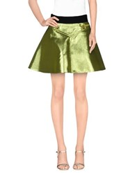 Fausto Puglisi Skirts Mini Skirts Women Acid Green