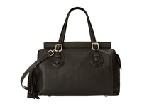 Nine West City Chic Medium Tess Black Black Handbags