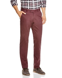 The Men's Store At Bloomingdale's Brushed Cotton Regular Fit Pants Raisin