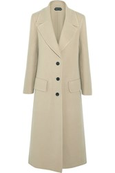 Tom Ford Cashmere Coat Beige
