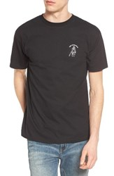 Obey Men's Snake Eye Embroidered T Shirt