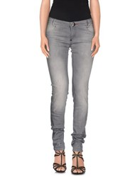 Philipp Plein Couture Denim Denim Trousers Women Grey