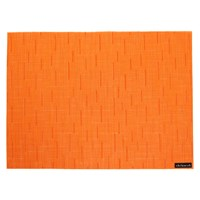 Chilewich Bamboo Rectangle Placemat Mandarin