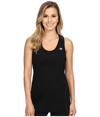 New Balance Performance Merino Tank Top Black Women's Sleeveless