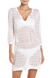 Tommy Bahama Women's Cover Up Tunic White