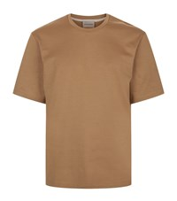 Solid Homme Classic Cotton T Shirt Male Beige